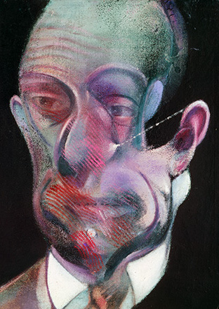 Francis Bacon, Three Studies for Self-Portrait, 1976