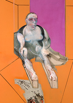 Francis Bacon, Sphinx - Portrait of Muriel Belcher, 1979