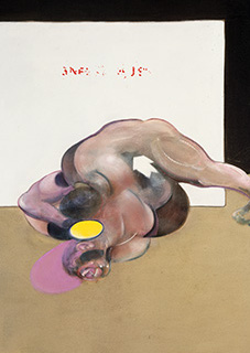 Francis Bacon, The Wrestlers after Muybridge, 1980