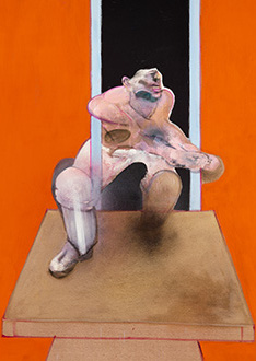 Francis Bacon, Figure in Movement, 1985
