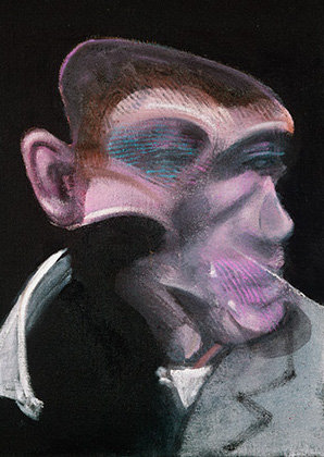 Francis Bacon, Study of Portrait of John Edwards, 1989
