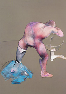Francis Bacon, Man at a Washbasin, 1989-90