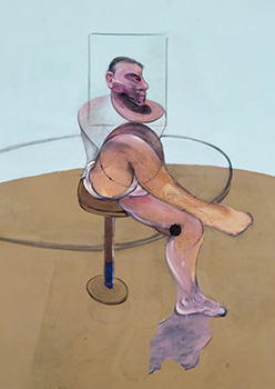 Francis Bacon, Painting, 1990