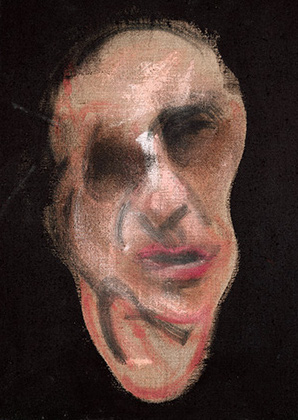 Francis Bacon, Self-Portrait, 1990