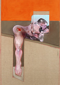 Francis Bacon, Study for Human Body, 1991
