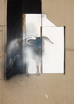 Francis Bacon, Study of a Bull, 1991