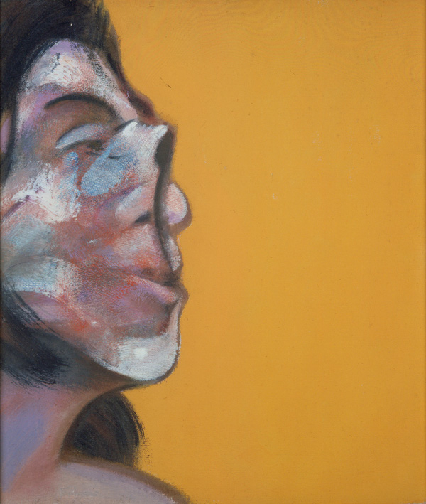 Decorative image: Francis Bacon's oil on canvas painting Portrait of Henrietta Moraes, 1969.