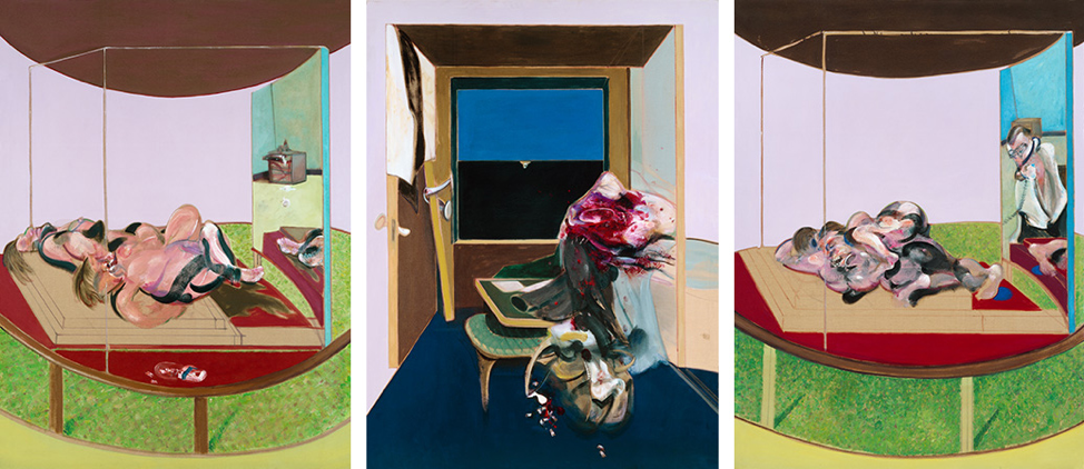 Francis Bacon, Triptych, 1967. Oil on canvas. CR number 67-16. © The Estate of Francis Bacon / DACS London 2020. All rights reserved.