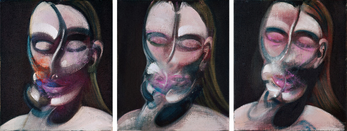 Decorative image: Francis Bacon's Three Studies for a Portrait, 1976. Oil on canvas. © The Estate of Francis Bacon / DACS London 2018. All rights reserved.