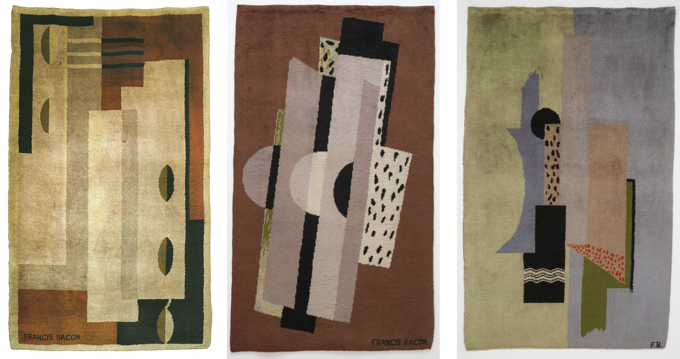 Decorative image: Francis Bacon Rugs, c.1929.