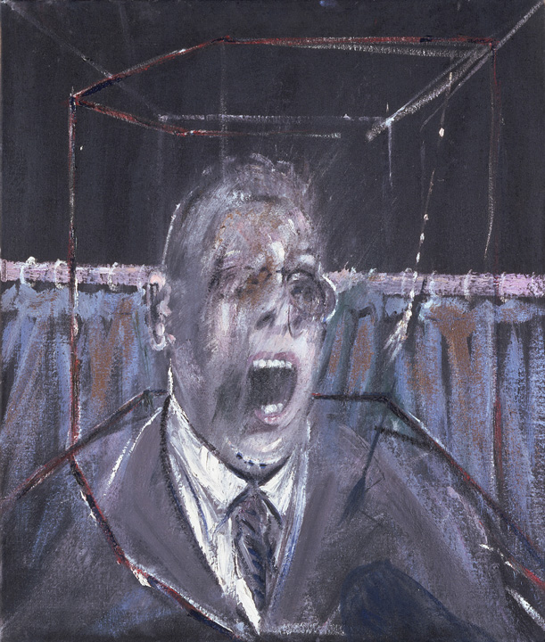Francis Bacon, Study for a Portrait, 1952.
