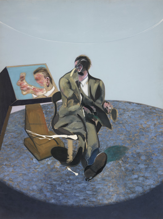 Francis Bacon, Portrait of George Dyer in a Mirror 1968. Oil on canvas. © The Estate of Francis Bacon / DACS London 2017. All rights reserved. Catalogue Raisonné Number 68-05.