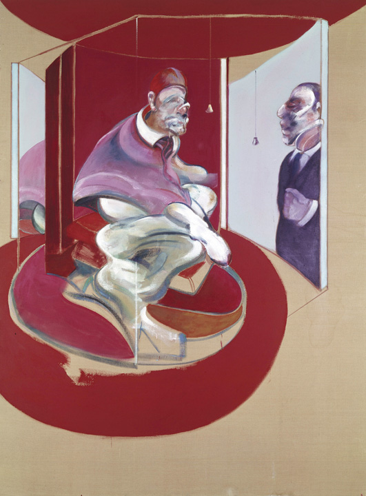 Francis Bacon, Study of Red Pope, 1962, Second Version, 1971. Oil on canvas. © The Estate of Francis Bacon / DACS London 2017. All rights reserved. Catalogue Raisonné Number 71-04.