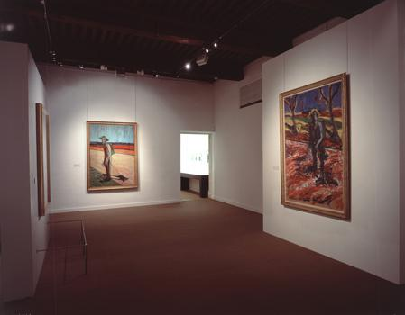 Installation shot from Van Gogh by Bacon, Fondation Vincent Van Gogh, 5 July - 6 October 2002