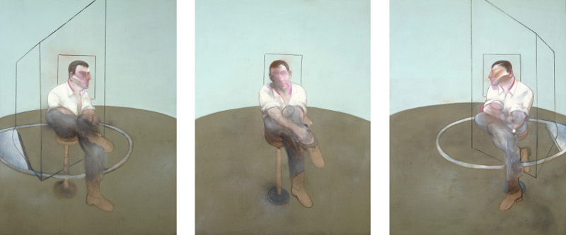 Francis Bacon, 'Three Studies for a Portrait of John Edwards' (1984), Oil on canvas. © The Estate of Francis Bacon / DACS London 2014. All rights reserved.