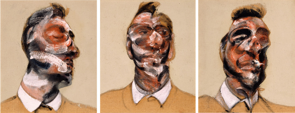 Francis Bacon, 'Three Studies for a Portrait of George Dyer (on light ground)', 1964, © The Estate of Francis Bacon / DACS London 2013. All rights reserved.