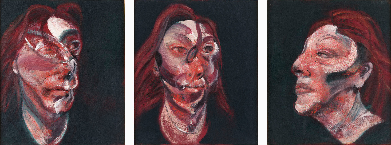 Image: Francis Bacon, 'Three Studies for a Portrait of Isabel Rawsthorne', 1965, oil on canvas, © The Estate of Francis Bacon / DACS London 2014. All rights reserved.