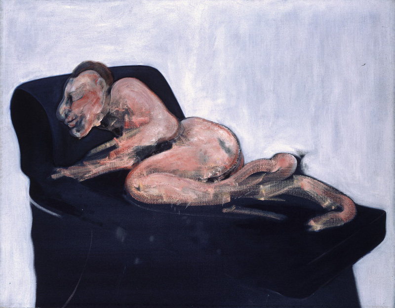 Francis Bacon, Sleeping Figure, 1959. Oil on canvas. © The Estate of Francis Bacon / DACS London 2015. All rights reserved.