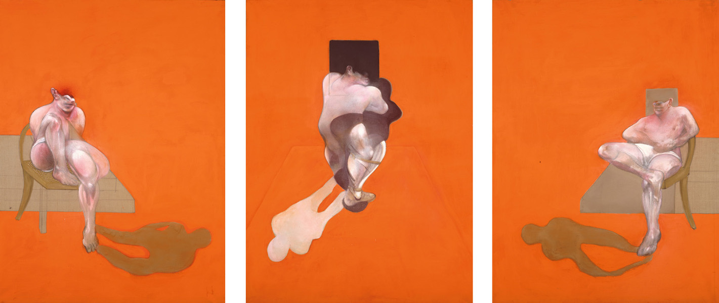 Francis Bacon, Triptych, 1983. Oil and pastel on canvas. © The Estate of Francis Bacon / DACS London 2015. All rights reserved.