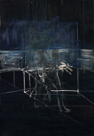francis bacon seated figure